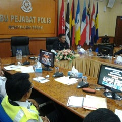 Photo taken at Ibu Pejabat Polis Kontinjen Perak by Supardi H. on 5/31/2012