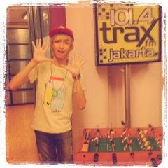 Photo taken at 101.4 Trax FM by Rasyadan A. on 6/9/2012