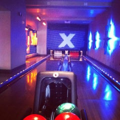 Photo taken at Lucky Strike by Anna on 4/14/2012