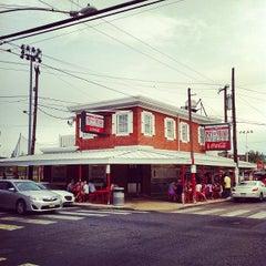 Photo taken at Pat's King of Steaks by Jeff B. on 7/8/2012
