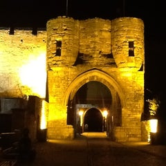 Photo taken at Lincoln Castle by Steve on 2/18/2012