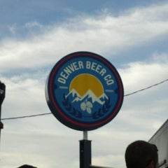 Photo taken at Denver Beer Co. by Brian S. on 6/6/2012