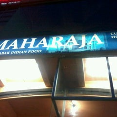 Photo taken at Maharaja Curry House by bere h. on 3/22/2012