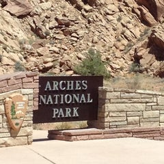 Photo taken at Arches National Park by Shari S. on 7/11/2012