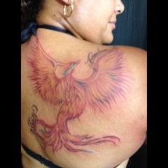 Photo taken at Ink Pushers Tattoo Shop by Yesenia V. on 9/9/2012