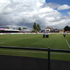 Photo taken at The London Borough of Barking & Dagenham Stadium by Jack W. on 8/25/2012