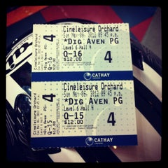 Photo taken at Cathay Cineplex by Anna M. on 5/6/2012