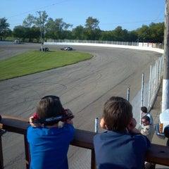 Photo taken at Columbus 151 Speedway by Abe D. on 5/16/2012