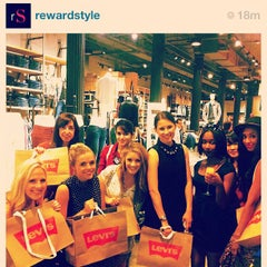 Photo taken at Levi's Store by Ria M. on 9/6/2012