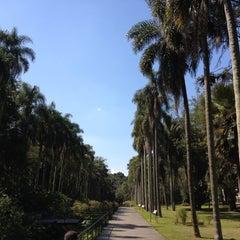 Photo taken at Jardim Botânico de São Paulo by Emerson A. on 8/14/2012
