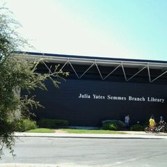 Photo taken at Julia Yates Semmes Branch Library by Martina V. on 8/14/2012