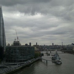 Photo taken at Tower Bridge Exhibition by Sarah T. on 6/1/2012
