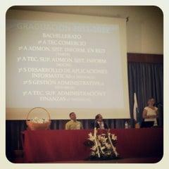 Photo taken at IES César Manrique by Eduardo O. on 6/1/2012