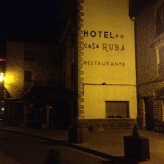 Photo taken at Hotel Casa Ruba Biescas by FERNANDO L. on 5/25/2012