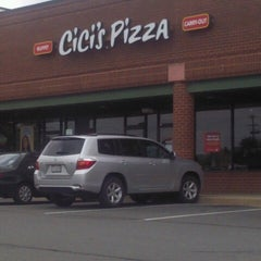 Photo taken at CiCi's Pizza by Amanda R. on 7/14/2012