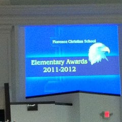 Photo taken at Florence Christian School by Renee W. on 5/23/2012