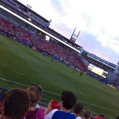 Photo taken at Toyota Stadium by Jessica K. on 5/20/2012
