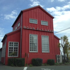 Photo taken at Boon Fly Cafe by Napa Valley Bitters C. on 4/12/2012