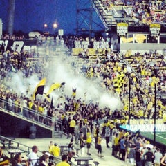 Photo taken at MAPFRE Stadium by Luke S. on 7/1/2012