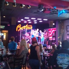 Photo taken at Boston's On The Beach by Steven B. on 7/7/2012