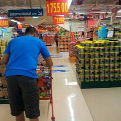 Photo taken at LotteMart by Felix A. on 7/8/2012