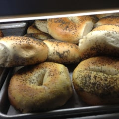 Photo taken at San Francisco Bagelry by Krista T. on 5/2/2012