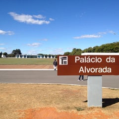 Photo taken at Palácio da Alvorada by Virgínia G. on 7/3/2012