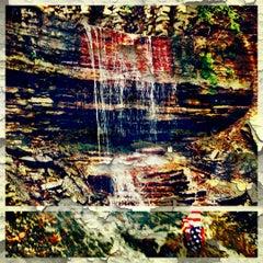 Photo taken at Hidden Falls Regional Park by Kaitlin B. on 6/19/2012