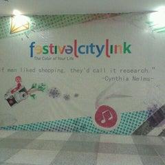 Photo taken at Festival Citylink by Lanny M. on 4/17/2012