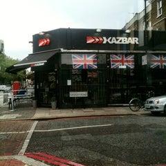 Photo taken at Kazbar by Olivier W. on 5/31/2012