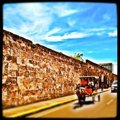 Photo taken at Intramuros by Rain A. on 4/27/2012