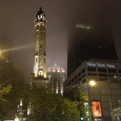 Photo taken at Chicago Water Tower by Eric T. on 5/6/2012