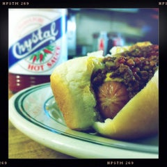 Photo taken at Coney Island Sandwiches & Grill by Nate R. on 3/28/2012