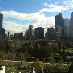 Photo taken at Park Hyatt Melbourne by Pete M. on 4/27/2012