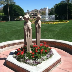 Photo taken at Arizona Biltmore, a Waldorf Astoria Resort by Tara A. on 4/3/2012