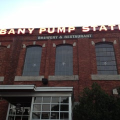 Photo taken at C.H. Evans Brewing Co. at the Albany Pump Station by Aisa B. on 6/21/2012