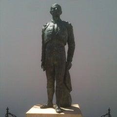 Photo taken at Plaza de Toros de Ronda by Ben V. on 8/22/2012