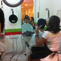Photo taken at Cut N Go Family Salons by Carmen M. on 7/7/2012