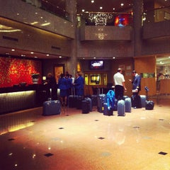 Photo taken at Crowne Plaza Shanghai | 上海银星皇冠酒店 by Lili on 5/14/2012