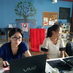 Photo taken at ChaiHuo 柴火 Hackerspace by Michael M. on 5/25/2012