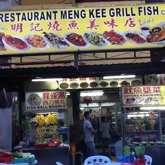 Photo taken at Meng Kee Grill Fish by Abe V. on 7/26/2012