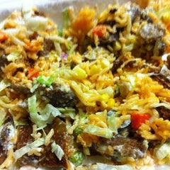Photo taken at Rafiqi's Halal Food by Joshua S. on 4/2/2012