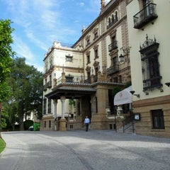 Photo taken at Hotel Alfonso XIII by Катёна М. on 5/24/2012