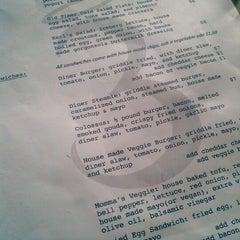 Photo taken at Three Angels Diner by Joe N. on 4/25/2012