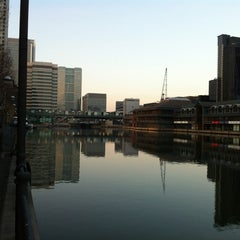 Photo taken at Canary Wharf by Edward K. on 3/11/2012