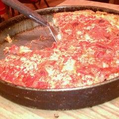 Photo taken at Lou Malnati's Pizzeria by James S. on 9/4/2012