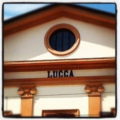 Photo taken at Stazione Lucca by Aurelio B. on 7/6/2012