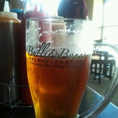Photo taken at Bull & Bones Brewhaus & Grill by Richard S. on 9/2/2012