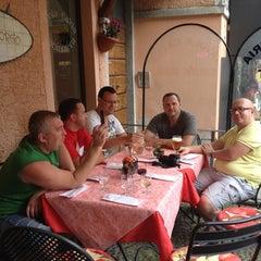 Photo taken at Caffe Vechio Borgo by MashaMo🌺 O. on 7/2/2012