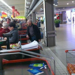 Photo taken at Auchan by Cindy R. on 3/23/2012